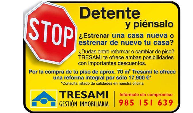 En Tresami gestión inmobiliaria le ofrecemos una reforma integlar opr la compra de de un piso de 70m2.   #inmobiliaria #gijon #inmobiliariagijon #tresami #asturias