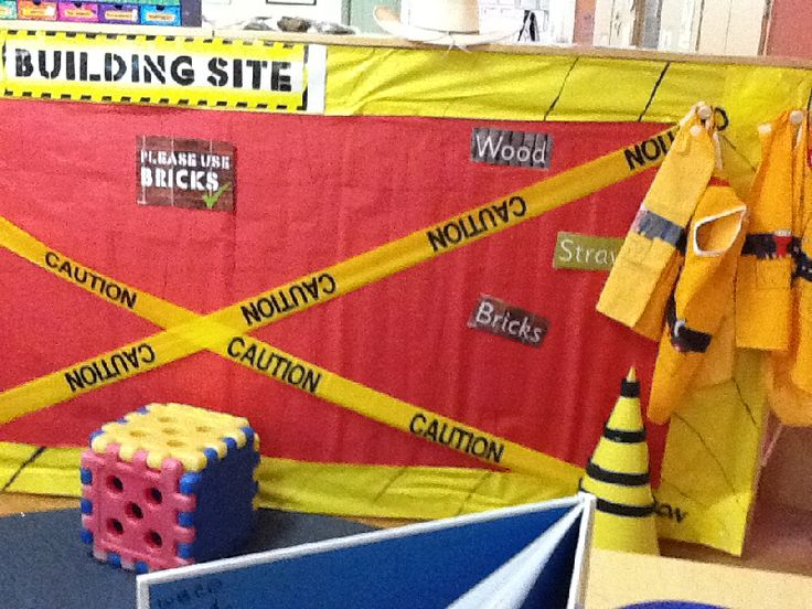 Building Site role-play display photo - Photo gallery - SparkleBox
