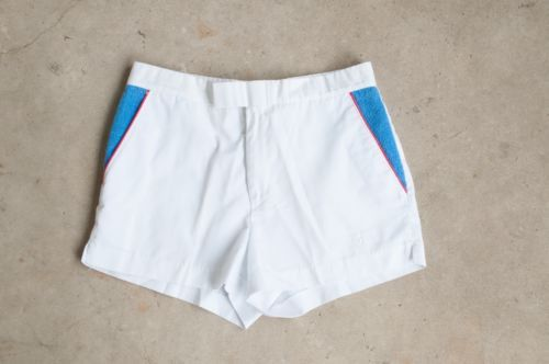 Fred Perry Tennis Shorts Mens Vintage 1970s Sportswear White Shorts 30 Small   eBay