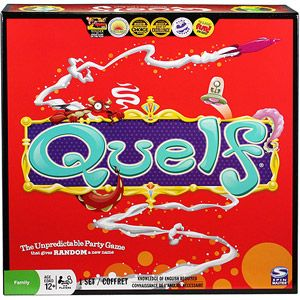 Quelf Board Game great fun for teens and adults