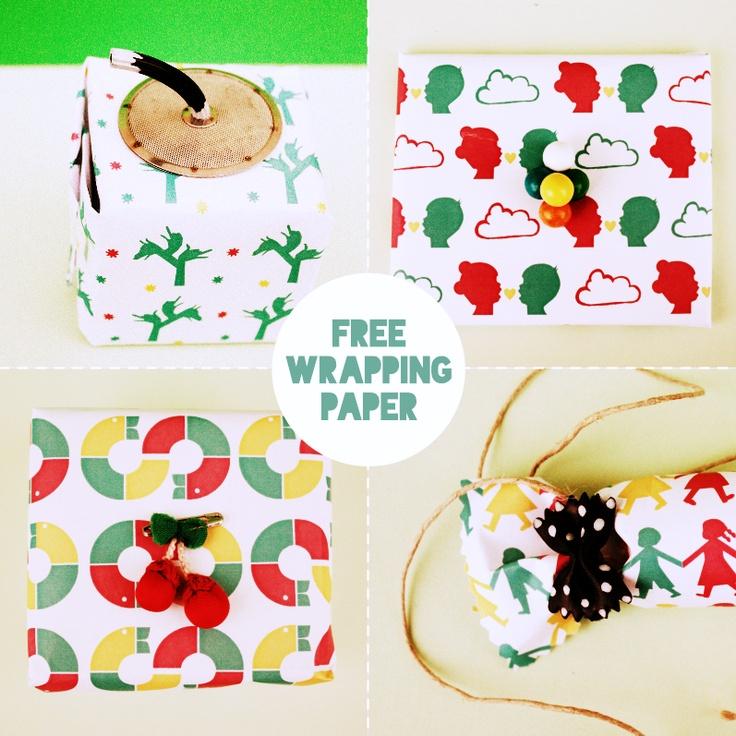 free wrapping papar (printable)