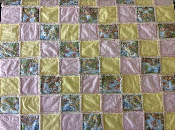 Rag Quilt:  Nursery Rhymes - Jemima