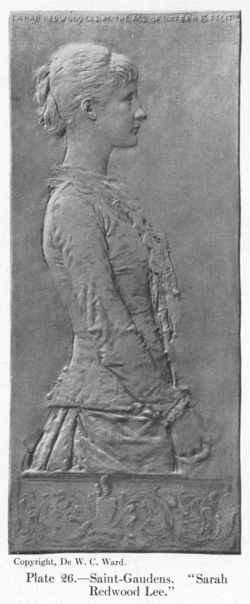 "Saint-Gaudens. ""Sarah Redwood Lee."""