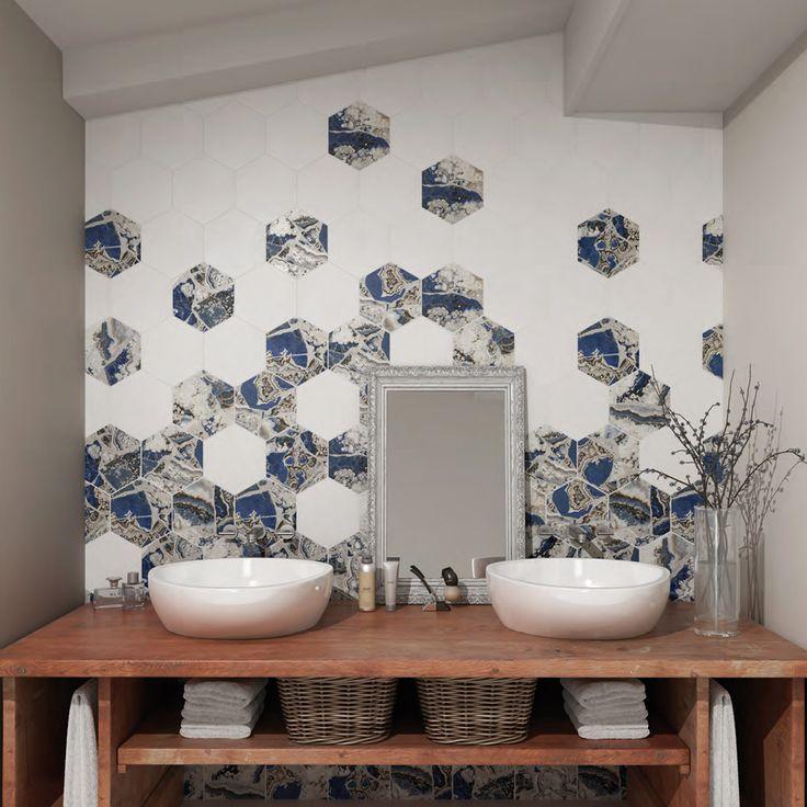 Mejores 18 im genes de azulejos hexagonales en pinterest - Azulejos hexagonales ...