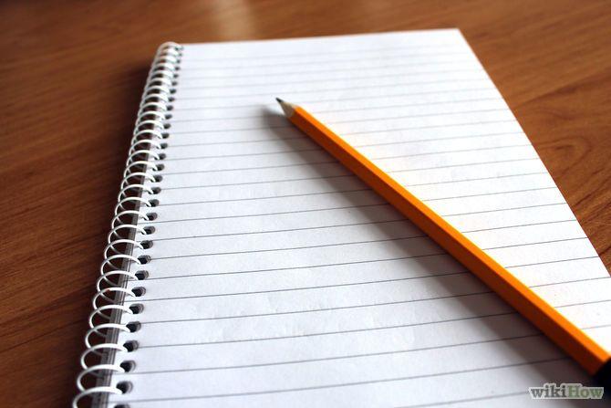 Write a Novel Step 1