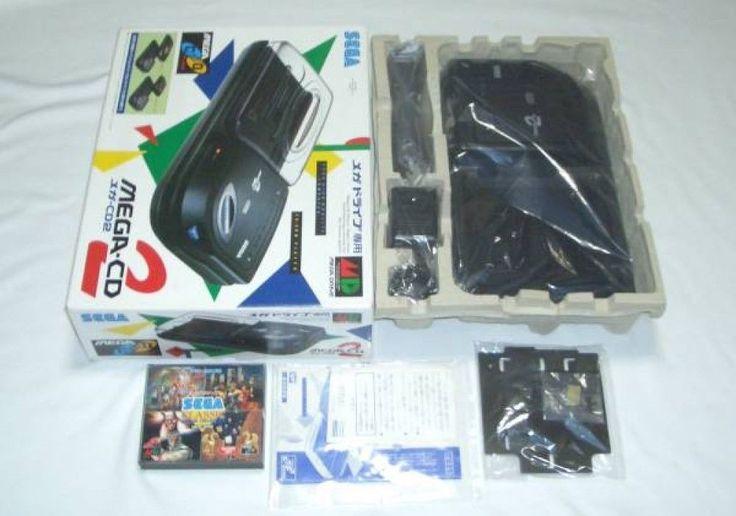 SEGA MEGA-CD 2 Console System GENESIS / MEGA DRIVE Boxed Import Japan 972 #SEGA