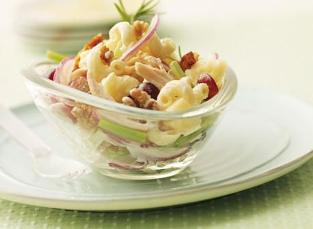 California Chicken Pasta Salad.... this is supper tonight!