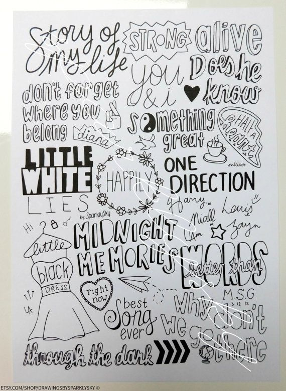 1d Collage Made In The Am Four Midnight Memories One Direction Collage Poster Print One Direction Drawings One Direction Collage One Direction Art