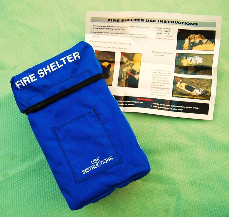 Cargo: Anchor Industries fire shelter case