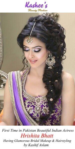 Glamorous makeup n hairstyling by kashif aslam