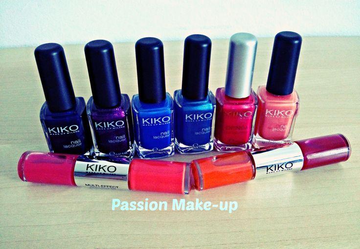 La mia collezione della linea KIKO