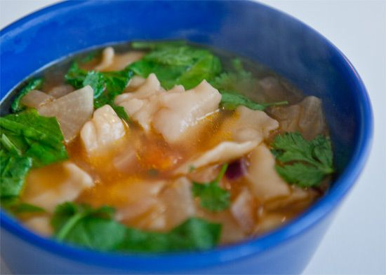 "Tibetan Thentuk, ""Pull"" Noodle Soup (sooooooo good, but haven't yet tried this specific recipe yet)"