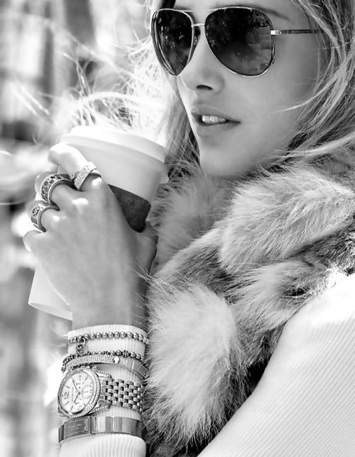 Silver blonde | Michael KorsA/W 2013 ad campaign