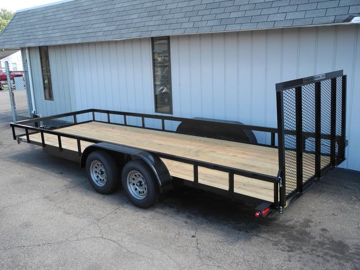 this double axle trailer is big it is 20 feet long 82 inches wide and has a gvwr of 7000 lbs. Black Bedroom Furniture Sets. Home Design Ideas