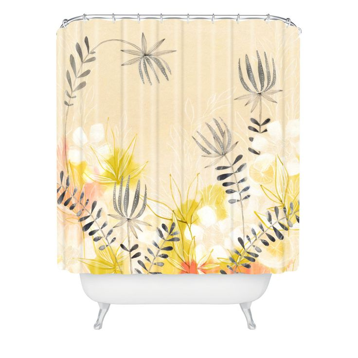 17 Best Images About Deny Shower Curtains On Pinterest Coral Shower Curtains Yellow Shower
