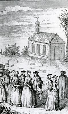 Hulett, James (d.1771). English. Medium: engraving. Date: 1742. Marriage of Joseph Andrews and Fanny; Henry Fielding (1707-54); Provenance: Private Collection.