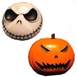 Pumpkin and Jack Magnet Set