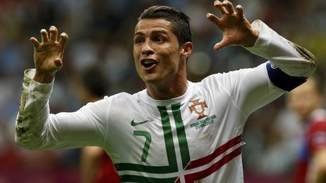 #CR7 scores and Portugal goes to semifinal #Euro2012 BBC Sport - Euro 2012