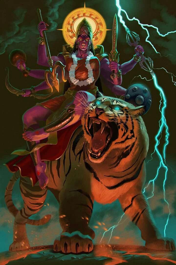 Chandi | Gods and Demigods in 2019 | Durga goddess, Hindu