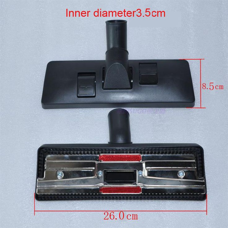 Universal Type 35mm interface Vacuum cleaner accessories Floor and carpet brush head Multifunctional cleaning brush head