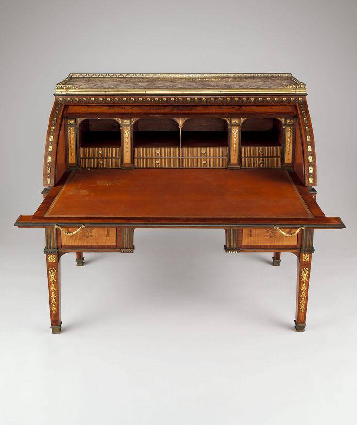 escritorio de tapa corrediza