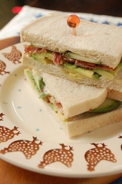 アボカド好きにはたまらないサンドイッチ