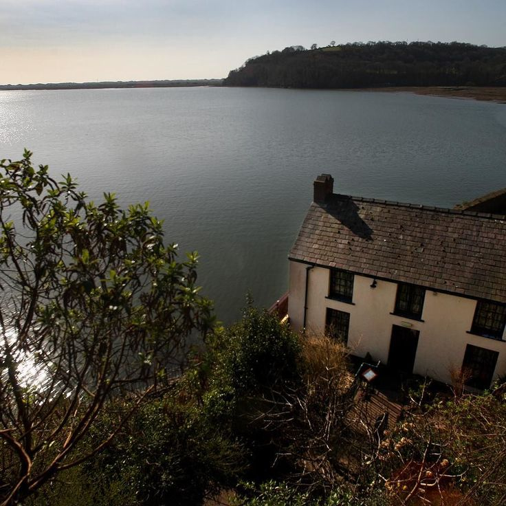 Were marking #NationalPoetryDay with a recording made by HRH The Prince of Wales two years ago of his favourite Dylan Thomas poem Fern Hill and this beautiful photo of Dylan Thomas home The Boat House in Laugharne. You can listen to it in full by following the link in our bio.  Image  Press Association by clarencehouse