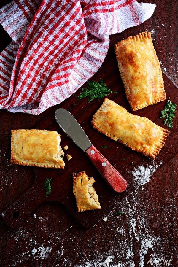 Карманные пирожки с индейкой и стручковой фасолью