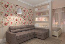 Фотографии: Однокомнатная квартира, Гатчина от дизайнера Екатерина Ненашева