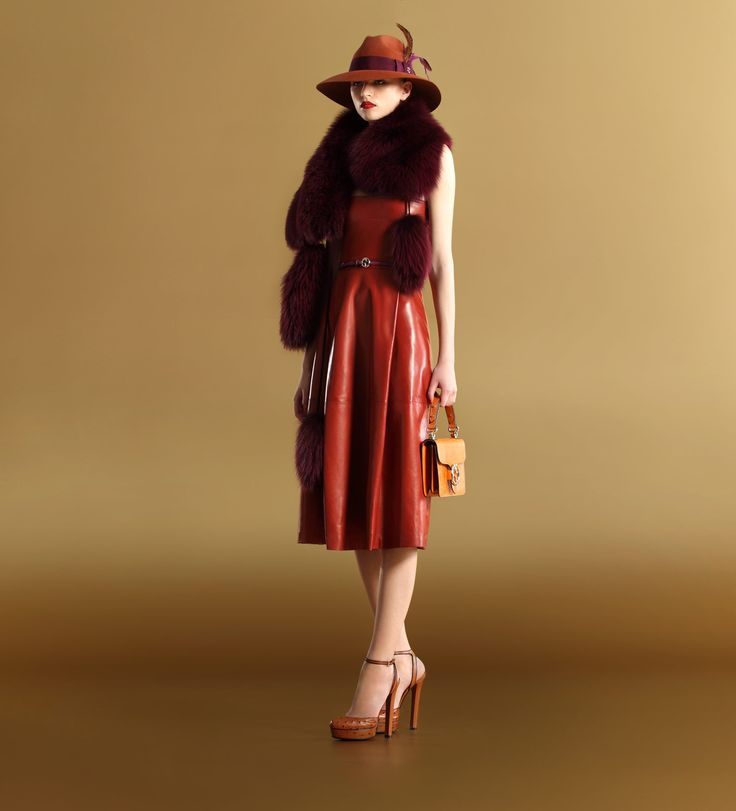 Image detail for -Gucci women's ready-to-wear fall winter 2011 – strapless leather ...