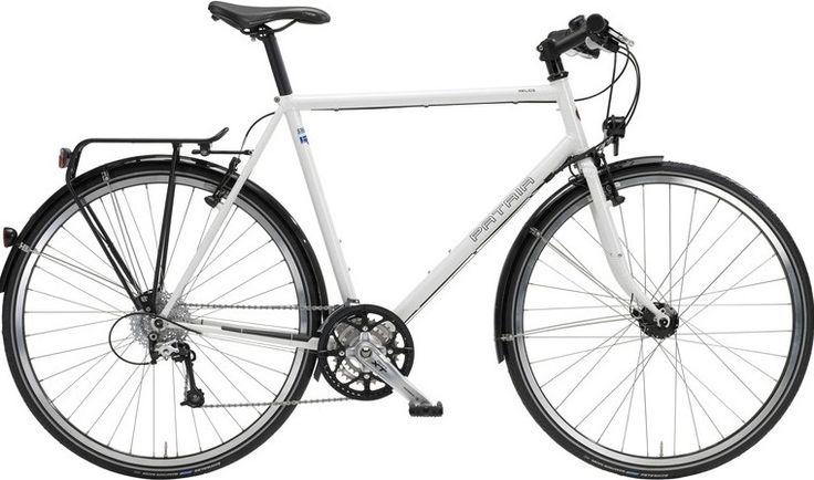 Fahrrad - Fahrradtypen Spezialfahrräder Fahrradhersteller - Trekking.- Reiseräder Stahlrahmen / Titan Patria SKIPPY ist ein Kinderfahrrad das mitwäc