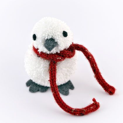 Pom Pom Winter Bird | Spoonful