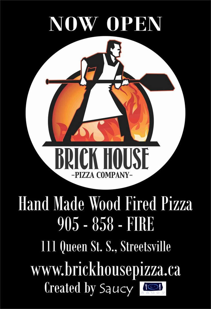 Brick House Pizza Co. is now open in #Streetsville (and we've been hearing it's good).