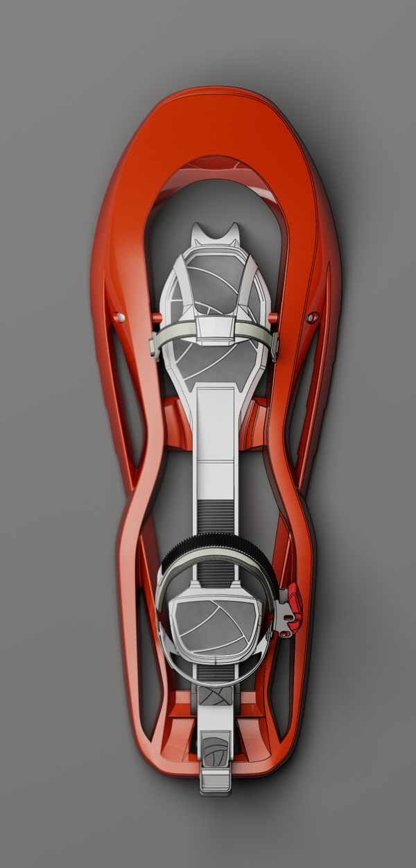 Snowshoes Concept Design by Alessandro Notario, via Behance