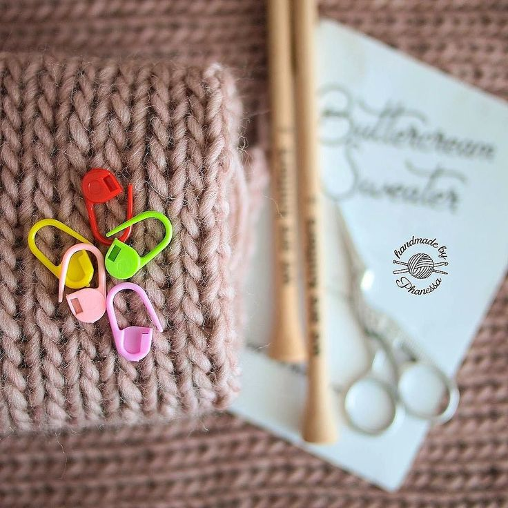 I have these stitch markers everywhere. It's a good thing too because I'm always looking for them! Can't wait to put this sweater together! . . . . . . #knit #knitting #knitter #knitters #knittersofinstagram #knittersoftheworld #knitlife #knitlove #loveknitting #knithat #knitbeanie #knittingaddict #yarn #yarnporn #fiberartist #handmade #crochet #handmadebyphanessa #maker #create #makersgonnamake #sacramento #ourmakerlife #weareknitters #knitsweater #wool #petitewool #allthehappinessinakit