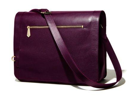 Jennifer Hamley, England - PRE ORDER - Aubergine Model KT Work Bag