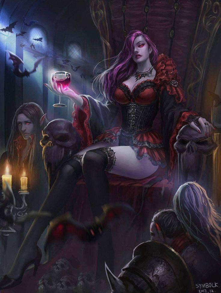 Картинки вампиров из фэнтези