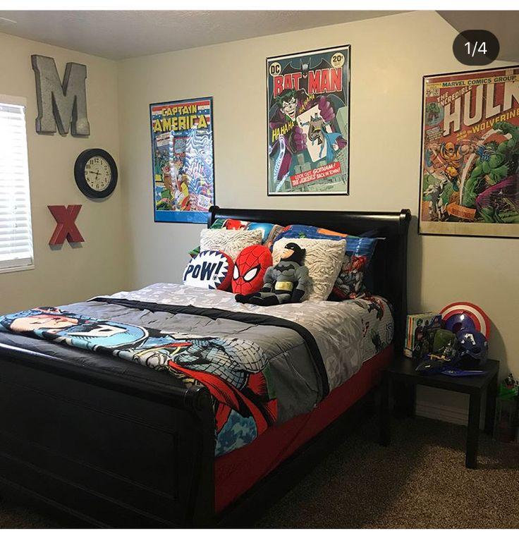 Pin By Aimee Donauer On Boys Bedroom Ideas Marvel Room