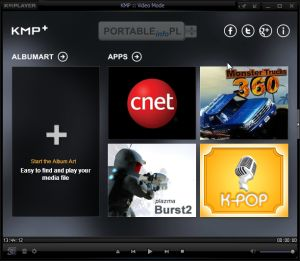 The KMPlayer (K-Multimedia Player), to darmowy odtwarzacz plików multimedialnych korzystający z własnej, wbudowanej bazy kodeków. Posiada ogromne możliwości.