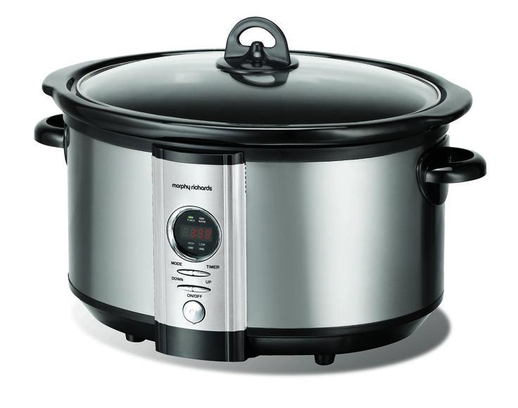 Digital Slow Cooker  http://www.morphyrichards.co.za/products/6-5l-digital-slow-cooker-48275sa