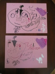 boost the artist in your kids ... copy THEIR artwork.  <3 this idea