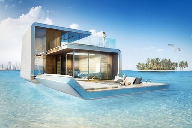 Floating Villas In Dubai With Underwater Bedrooms Are Beautiful