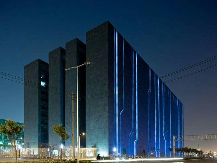 A digital building in Beijing