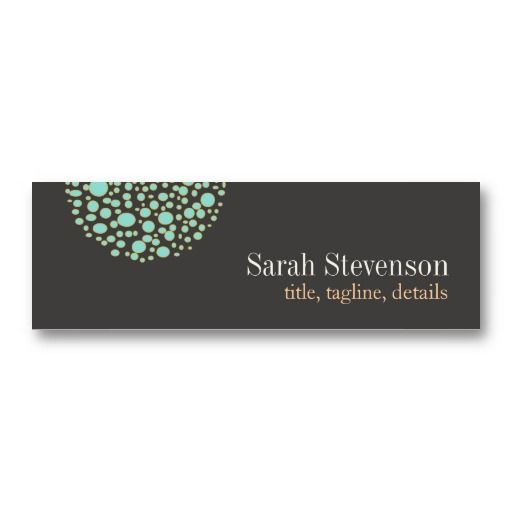 Unique Mini Business Card