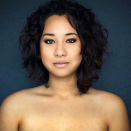 Pin for Later: It Happened Again! 1 Biracial Woman, 18+ Photoshopped Faces of Beauty