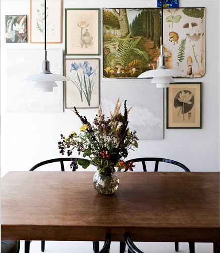 Art For The Kitchen & Dining Room: Vintage Botanical