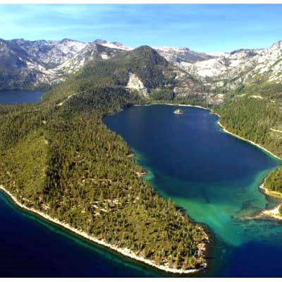 ✅Emerald Bay, Lake Tahoe 2012 (Check!) Kayaked from near the opening to the little island in the middle.