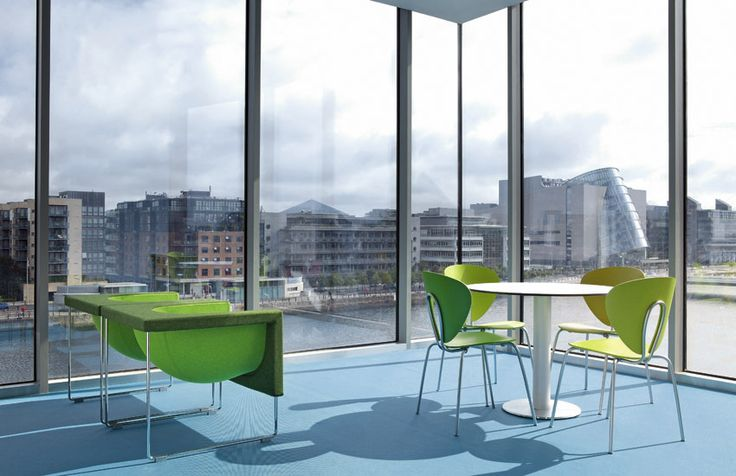 The offices of Publicis in Dublin have been furnished using STUA designs.