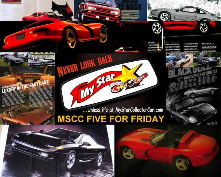 February 9 MSCC Five for Friday--what's on the collector car horizon? Read more: http://mystarcollectorcar.com/crystal-ball-time-what-is-on…/