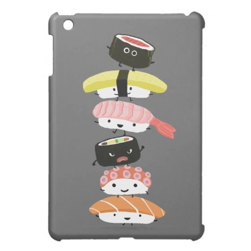 Sushi Case for the iPad Mini, Want it cheaper? Use this link for coupons: https://www.zazzle.com/coupons?rf=238077998797672559